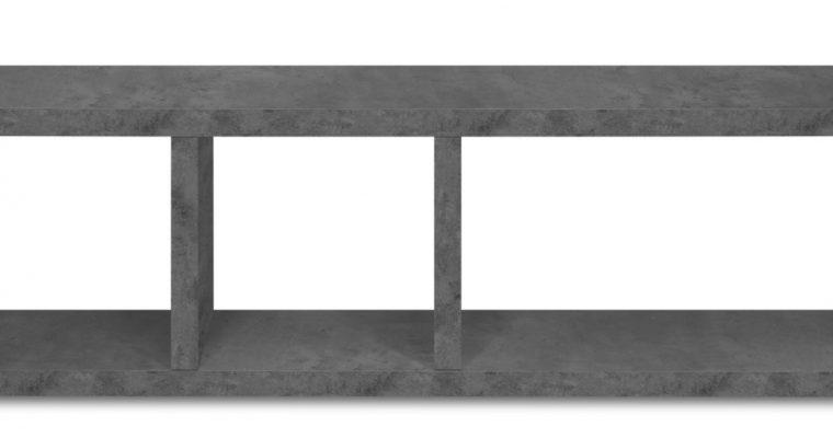 TemaHome Berlin Tv-Meubel – B150xD34xH45 Cm – Beton Look | 8720143248627