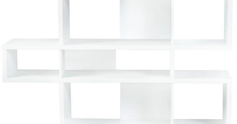 TemaHome Boekenkast London 001 – B156 X D34 X H100 Cm – Mat Wit | 5603449314803