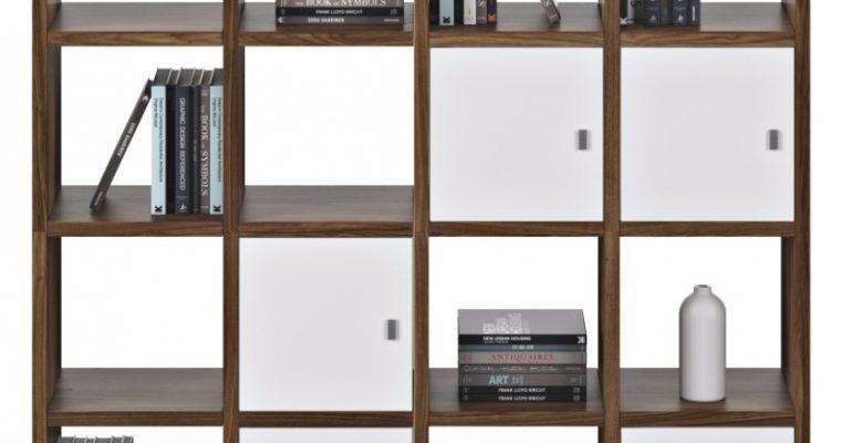 TemaHome Boekenkast Pombal Comp 2010-001 B151 X D34 X H224 Cm – Walnoot | 5603449510403