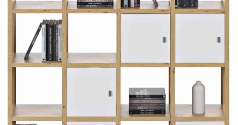 TemaHome Boekenkast Pombal Comp 2010-001 B151 X D34 X H224 Cm – Wild Oak | 5603449515897