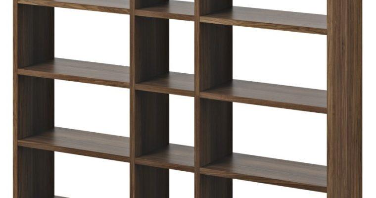 TemaHome Boekenkast Pombal Comp 2010-018 B182 X D34 X H224 Cm – Walnoot | 5603449515262