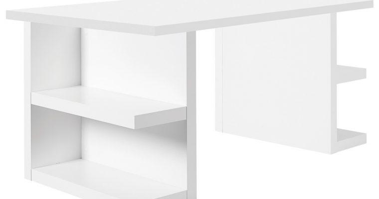 TemaHome Bureau Multi 160 Storage – L160 X B90 X H75 Cm – Mat Wit | 5603449612305