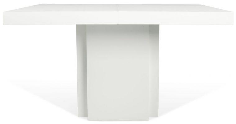 TemaHome Vierkante Tafel Dusk 130 – Hoogglans Wit | 5603449612602