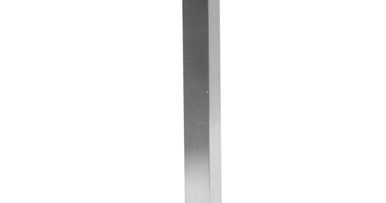 Tenzo Chill Bartafel – 60x60x110 – Mat Wit Tafelblad – RVS Onderstel   8720195955450