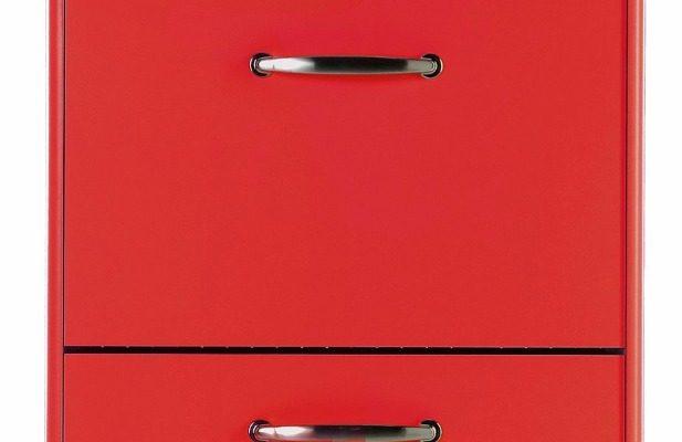 Tenzo Schoenenkast Malibu 3-Deurs – B58 X D24 X H121 – Rood | 7394084066087