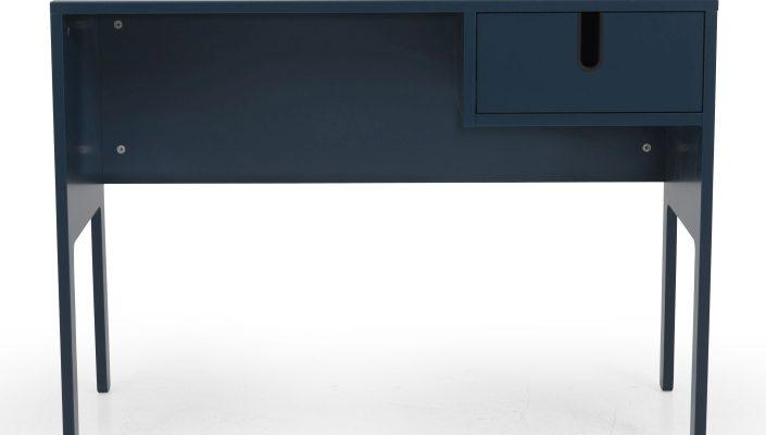 Tenzo UNO Bureau – L105 X B50 X H75 Cm – 1-Lade – Petrol Blauw | 7394084079629