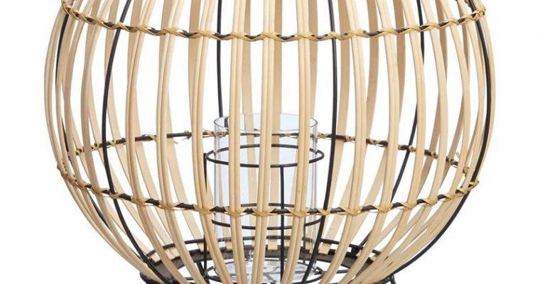 Windlicht Marbella Bruin