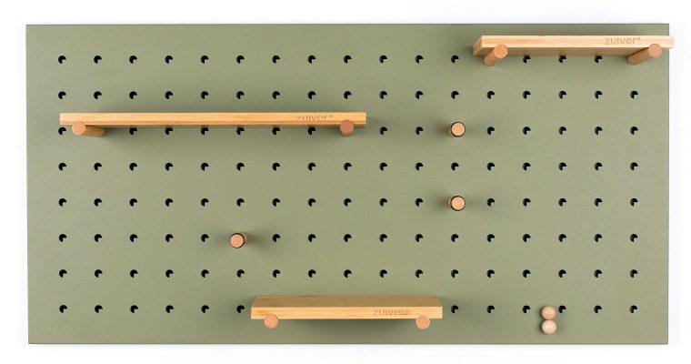 Zuiver Bundy Pegboard – 90x2x45 – Groen | 8718548041127