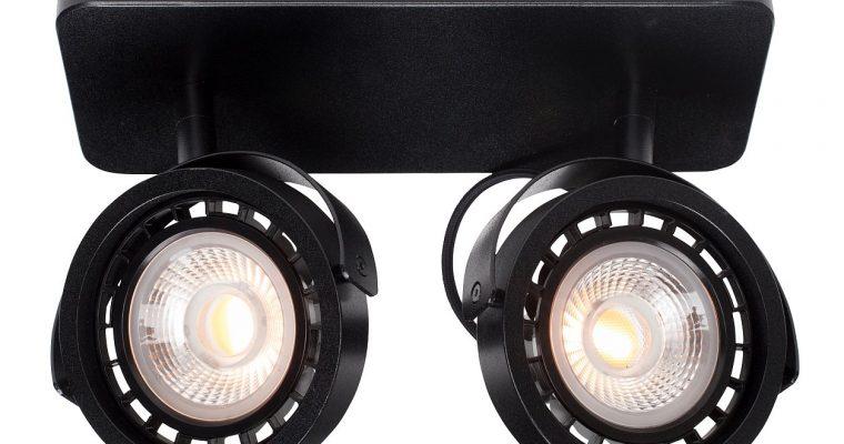 Zuiver Dice-2 Plafondspot – DTW Dim To Warm Dimbare LED – Zwart | 8718548048584
