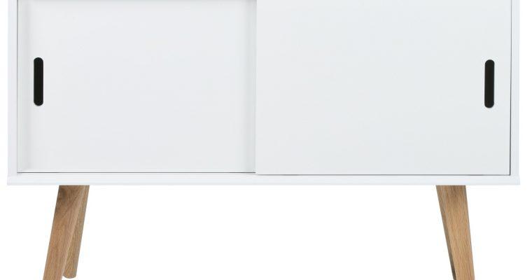 24Designs Dressoir Madra – 2 Deurs – L100 X B38 X H69.5 Cm – Wit | 8719323474345
