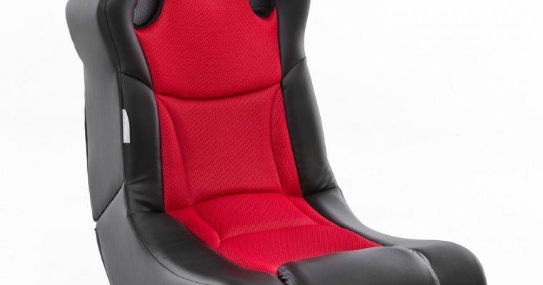 24Designs Racer – Racestoel Gamestoel – Bluetooth&Speakers – Zwart / Rood | 8719323478282