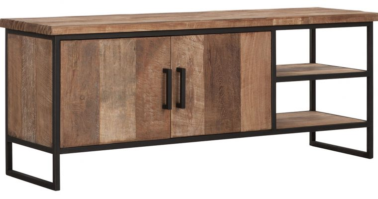 24Designs Timeless NO.2 Beam – TV Meubel – B140 X D40 X H55 Cm – Teakhout | 8720195958789