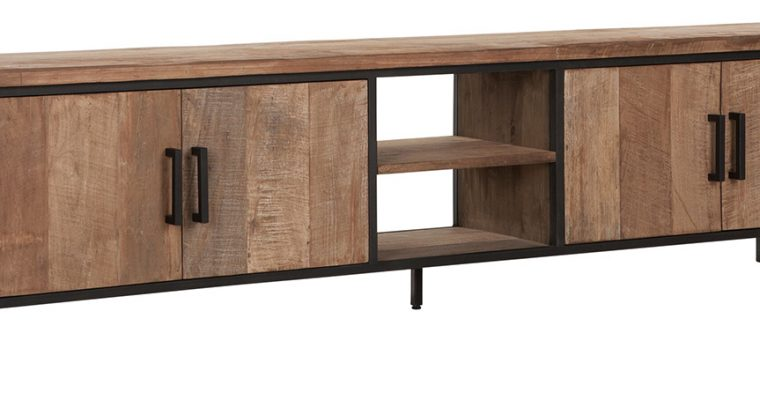 24Designs Timeless NO.2 Beam – TV Meubel – B220 X D40 X H55 Cm – Teakhout | 8720195958765
