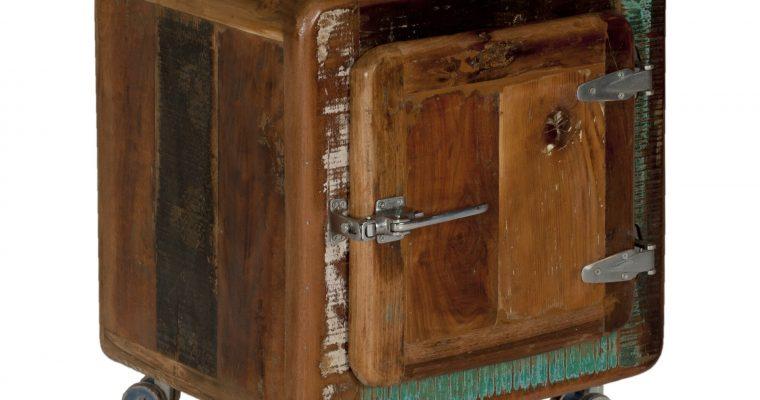 Artistiq Nachtkastje 'Fridge' met 1 deur   4055195265907