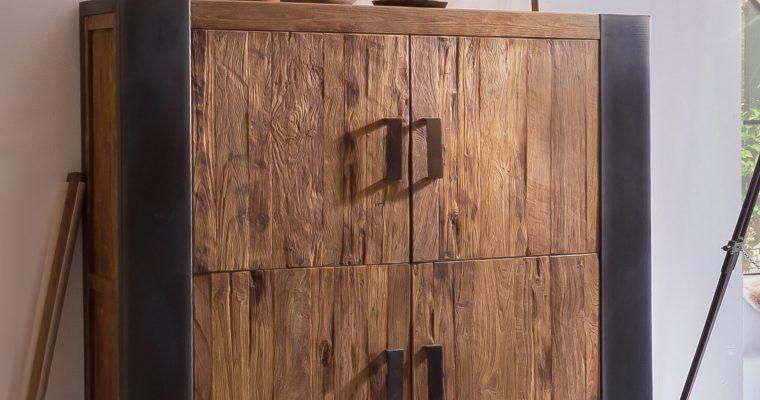 Artistiq Opbergkast 'Croco' met 4 deuren |