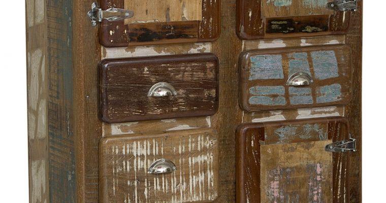 Artistiq Opbergkast 'Fridge' met 3 deuren en 5 laden | 4055195260407