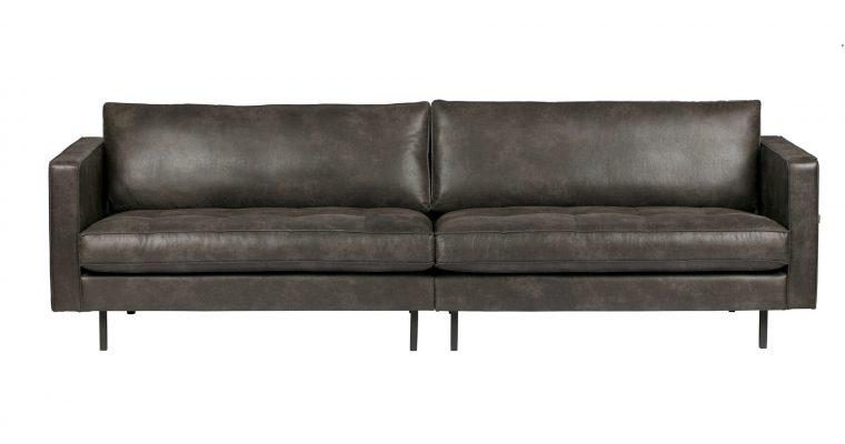 BePureHome Bank 'Rodeo Classic' 3-zits, kleur zwart | 8714713062195