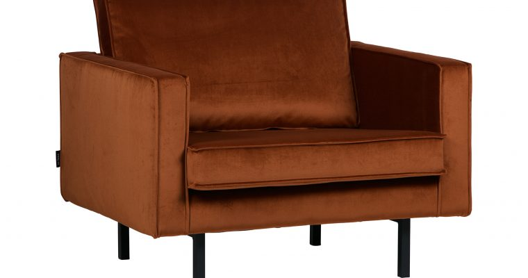 BePureHome Fauteuil 'Rodeo', kleur Roest | 8714713070244