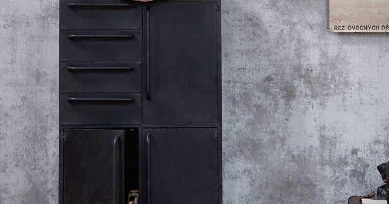 BePureHome Opbergkast 'Black Beauty', kleur Zwart | 8714713080083