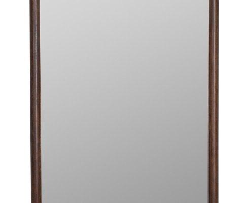 Dutchbone Riva Spiegel – B59,5xD3,5xH180 Cm – Donkerbruin Hout | 8718548040014
