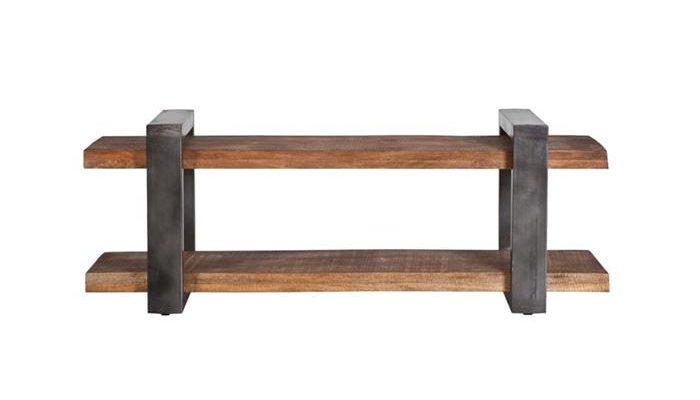 Eleonora Tv-meubel 'Mango Industrieel' 150cm, kleur metaal | 8719087018717