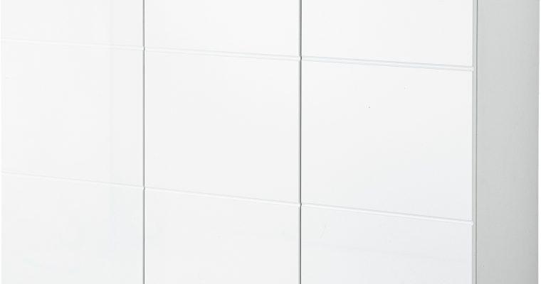 Germania Schoenenkast Adana Groot – L134 X B37 X H120 Cm – Wit | 4005949352308