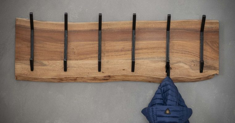 Kapstok 'Elliott' 100cm, met 2 x 6 haken | 8713244024825