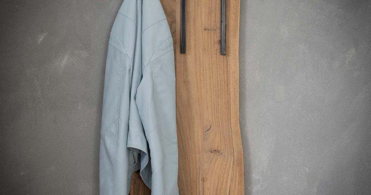 Kapstok 'Melanie' 35cm breed met 2 x 3 haken | 8713244024849