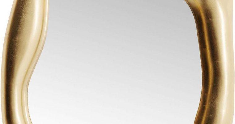Kare Design Hologram Spiegel – B76 X D9 X H119 Cm – Mat Goudkleurig | 4025621832065