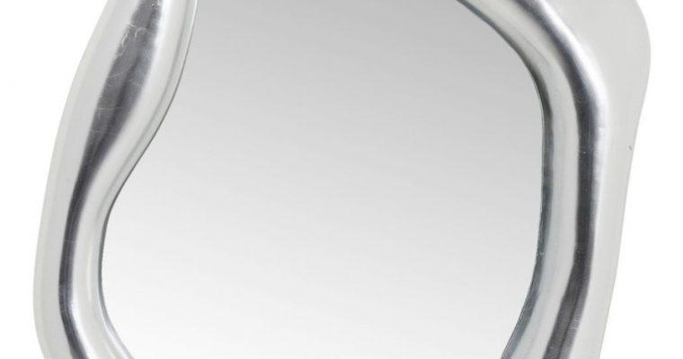 Kare Design Hologram Spiegel – B76 X D9 X H119 Cm – Mat Zilverkleurig | 4025621809456