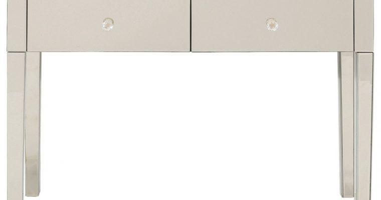 Kare Design Luxury Sidetable – B100xD40xH77 Cm – Spiegelglas Champagne | 4025621838944