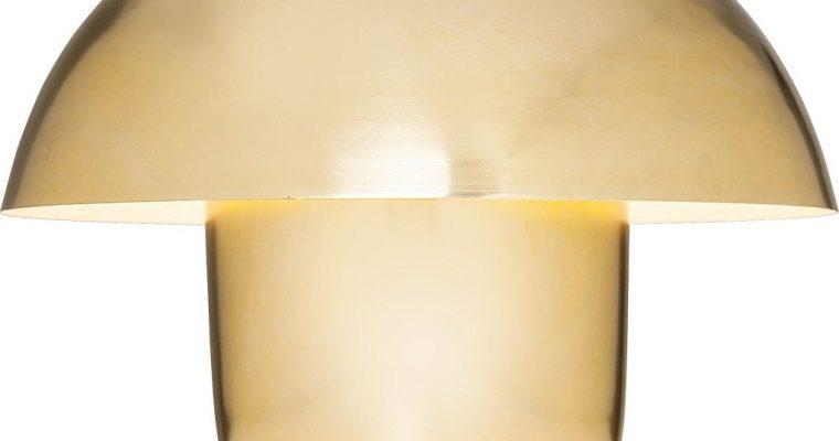 Kare Design Mushroom Tafellamp 1-LichtsØ50 X H44 – Messing | 4025621601982