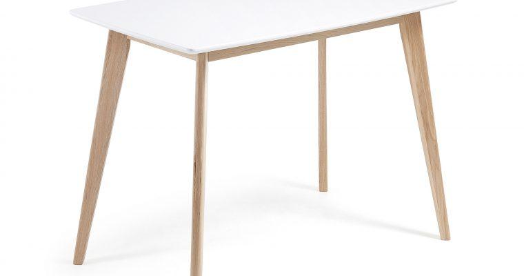 Kave Home Eettafel 'Anit' 120 x 75cm, kleur wit | 8433840409221