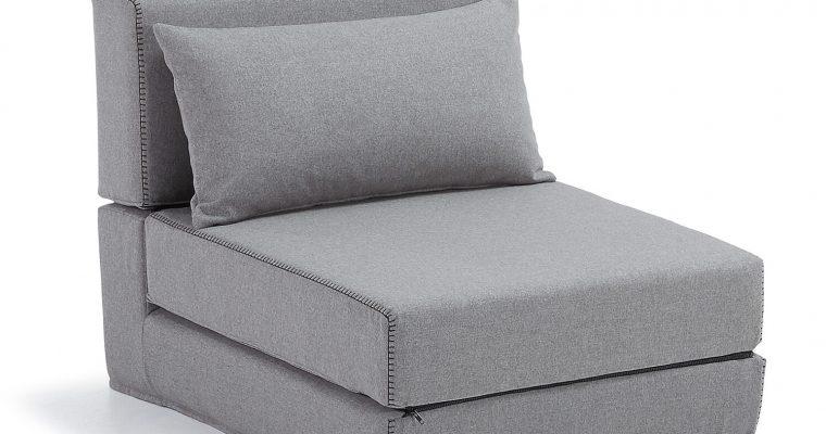 Kave Home Vouwbed 'Arty' kleur grijs | 8433840430409