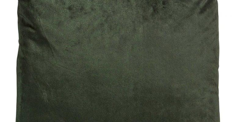 Kussen Velvet Donkergroen