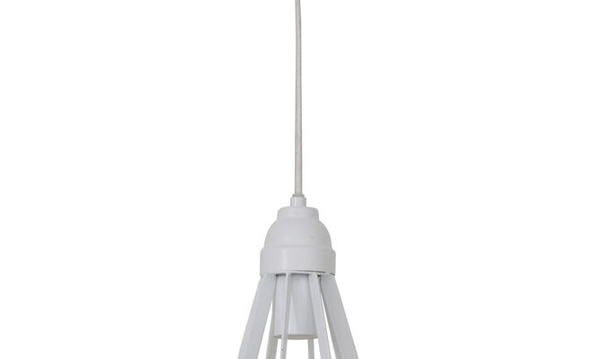 Light & Living Hanglamp 'Becky' 23cm, mat wit | 8717807206765