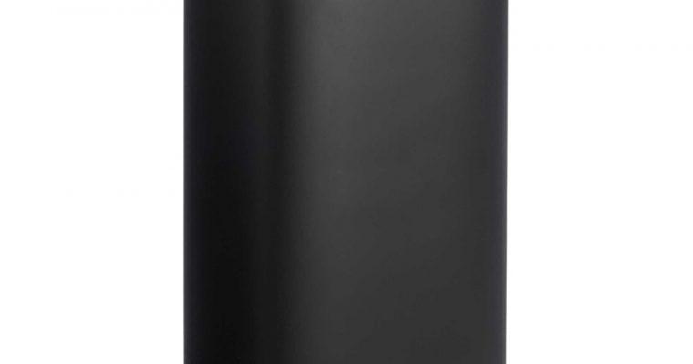 Pedaalemmer Lux 30 Liter Zwart