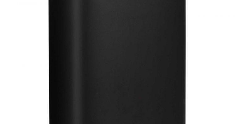Pedaalemmer Lux 5 Liter Zwart
