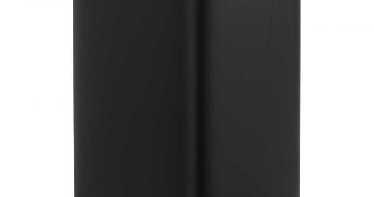 Pedaalemmer Rechthoek 5 Liter Mat Zwart