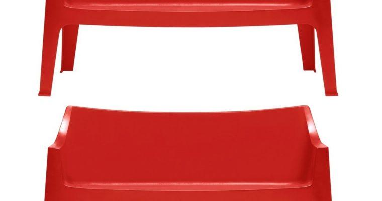 SCAB Design Set 2 Banken Coccolona Sofa – Rood | 8005733125336
