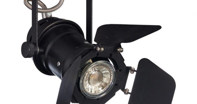 Spots Studio 1-lichts Zwart