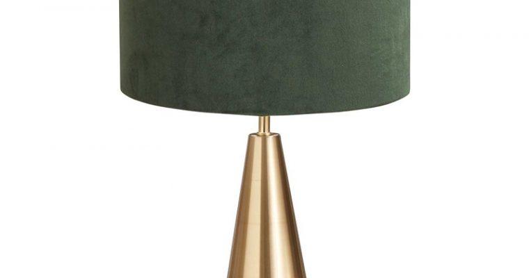 Tafellamp Ogle Groen Goud