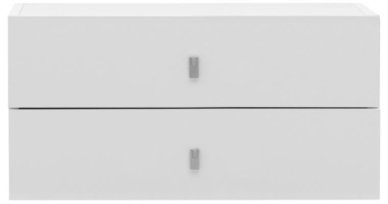 TemaHome Pombal 2-Lade Unit – B68 X D34 X H34 Cm – Mat Wit |