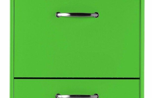 Tenzo Schoenenkast Malibu 3-Deurs – B58 X D24 X H121 – Groen | 7394084045433