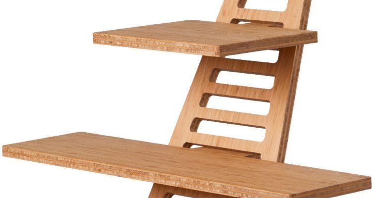 Upstaa XL Sta-bureau Werkplek? Bamboe | 8719689519063