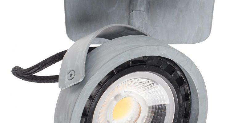 Zuiver Dice-1 Plafondspot – DTW Dim To Warm Dimbare LED – Gegalvaniseerd Grijs | 8718548048560