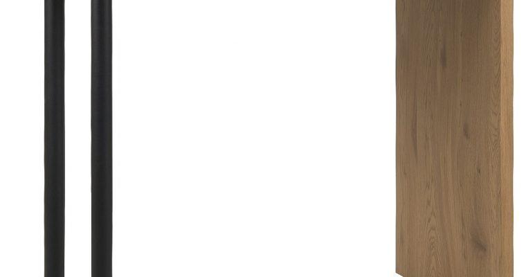24Designs Hoge Bartafel Butler – B120 X D60 X H105 Cm – Eiken Decor | 8720289850074