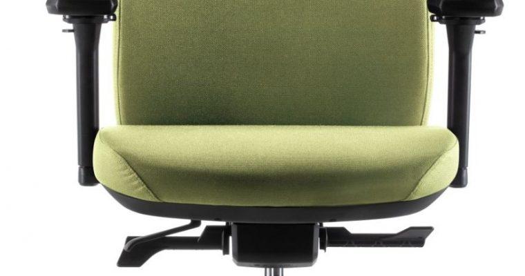 24Designs Move SYNCHRO-4 Ergonomische Bureaustoel EN1335 – Groene Stof – Zwart Onderstel | 8720289853297