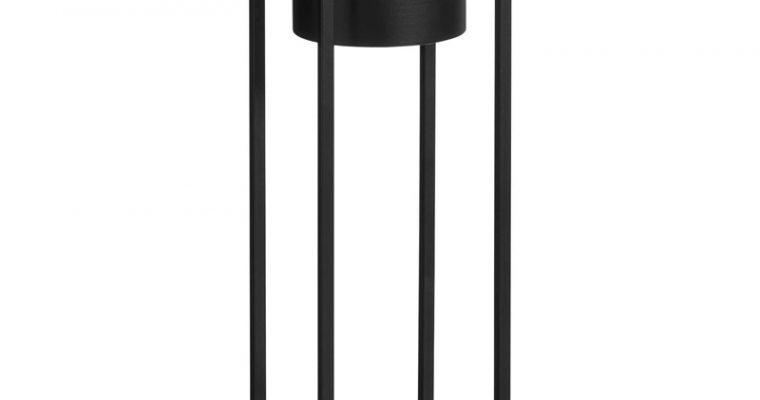 Bloempot Standaard Zwart