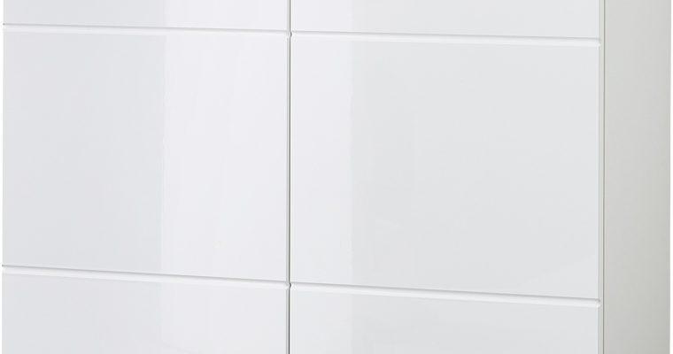 Germania Schoenenkast Adana Klein – L89 X B37 X H120 Cm – Wit | 4005949352421